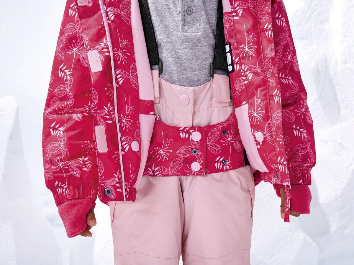 Bild 4 von LUPILU® Kleinkinder Mädchen Schneejacke