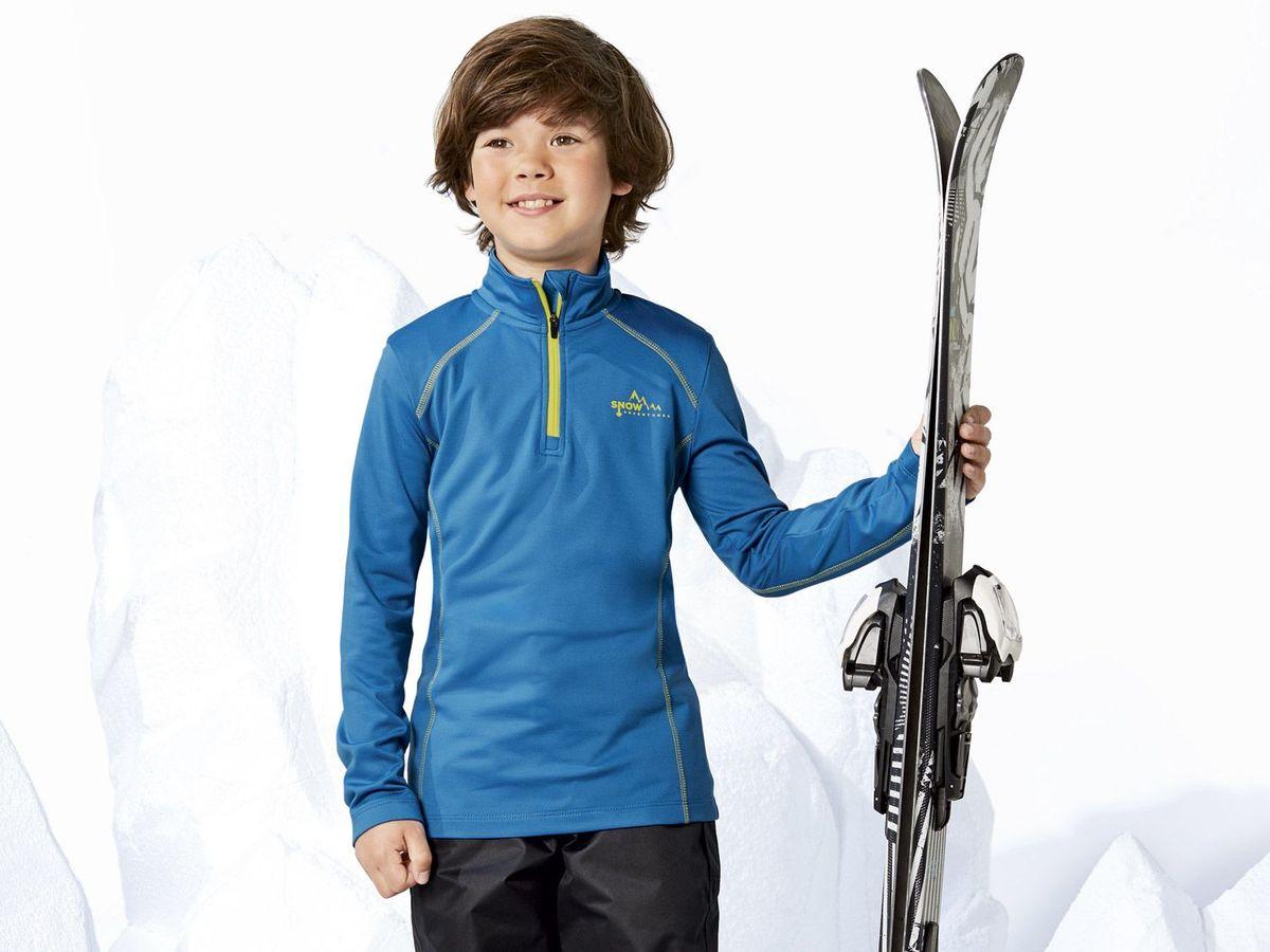 Bild 4 von CRIVIT® Kinder Jungen Ski Funktionsshirt