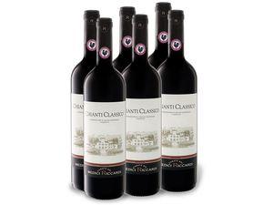 6 x 0,75-l-Flasche Weinpaket Casato dei Medici Riccardi Chianti Classico DOCG, Rotwein