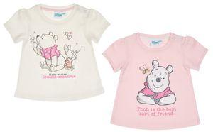 Winnie the Pooh Baby Shirt -  Mädchen : offwhite rosa Gr. 80/86