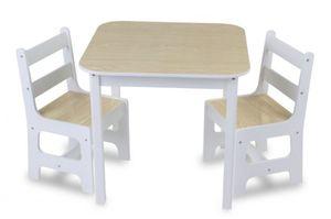 Besttoy - Sitzgruppe natur/weiß