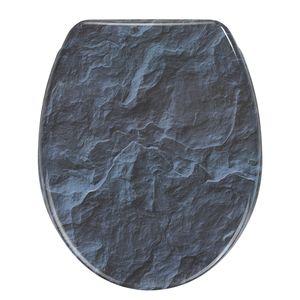 WC-Sitz Slate Rock - Blau, Wenko