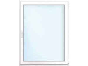 """Wärmeschutz-Fenster """"76/3"""", 75x100 cm, weiß, Anschlag rechts"""
