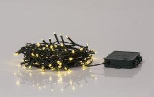 Merxx 80er LED Lichterkette mit Timer, außen