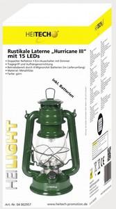 "Heitech Rustikale Laterne ""Hurricane III"" Grün"
