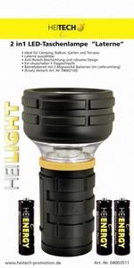 Heitech LED-Taschenlampe 1 Watt