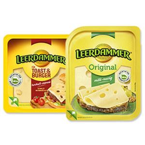 Leerdammer Scheiben Holländischer Schnittkäse,  45 % Fett i. Tr., versch. Sorten, jede 100/120/125/140-g-Packung