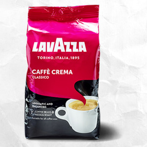 Lavazza Caffé Crema Classico oder Gustoso jede 1000-g-Packung