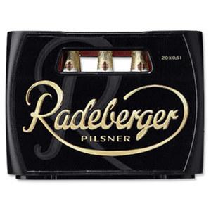Radeberger Pilsner 20 x 0,5 Liter, jeder Kasten