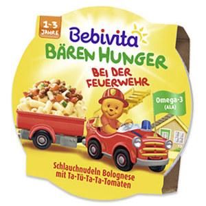 Bebivita Bären Hunger versch. Sorten, jede 250-g-Schale