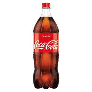 Coca-Cola*, Fanta oder Sprite (*koffeinhaltig), versch. Sorten, jede 2-Liter-PET-Flasche