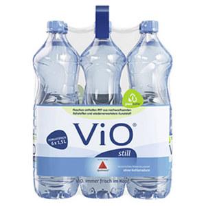 Vio Medium oder Still 6 x 1,5 Liter, jeder Kasten/jede Packung