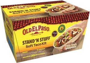Old El Paso Stand 'N Stuff Soft Taco Kit 345 g