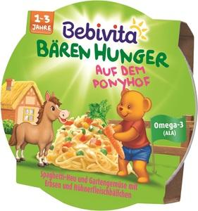 Bebivita Bären Hunger Auf dem Ponyhof 250 g