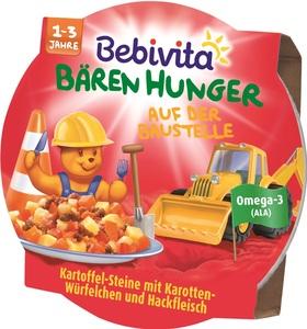Bebivita Bären Hunger Auf der Baustelle 1-3 Jahre 250 g