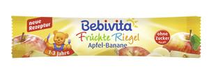 Bebivita Früchte Riegel Apfel-Banane ab 1 Jahr 25 g