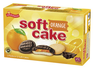 Griesson Soft Cake Zartbitter-Orange 300 g