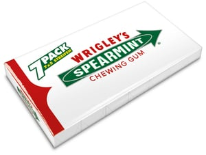 Wrigleys Spearmint 7x 5 Stk