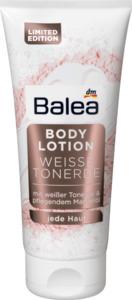 Balea Bodylotion mit weißer Tonerde