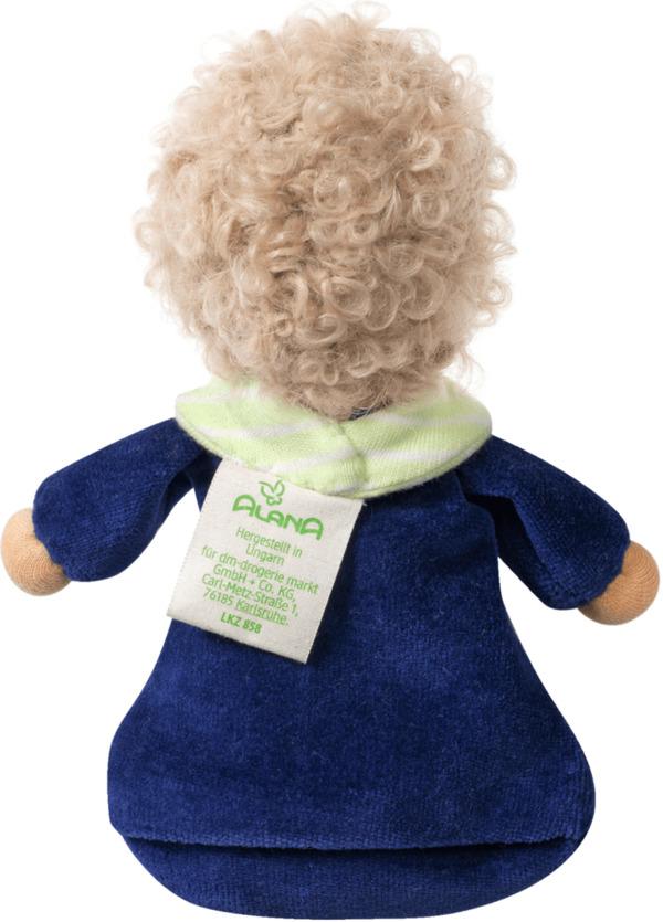 b712801756b205 ALANA Baby-Püppchen mit Traubenkernfüllung