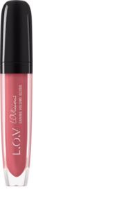 L.O.V Lipgloss LOVLICIOUS caring volume gloss nude 101