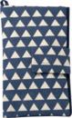 Bild 1 von ALANA Windeltasche in Dreieck-Design, in Bio-Baumwolle, mit Klettverschluss, blau, weiß