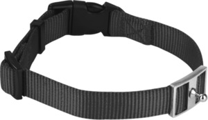 GoLeyGo Hundeleine und Halsband für Hunde, Vario M, schwarz