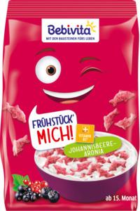 Bebivita Müsli Frühstück Mich! Knusperflakes Johannisbeere-Aronia ab 15. Monat
