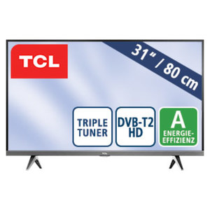 "32""-LED-HD-TV 32DS520 • Auflösung 1366 x 768 Pixel, H.265 • 2 HDMI-Eingänge, USB-/CI+-Anschluss • Stand-by: 0,25 Watt, in Betrieb: 40 Watt • Maße: H 43,5 x B 72,2 x T 7,5 cm • Energie-"