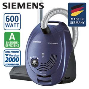 Bodenstaubsauger VS06V312 • Hygienefilter • 9 m Aktionsradius • Energie-Effizienz A (Spektrum: A+++ bis D)