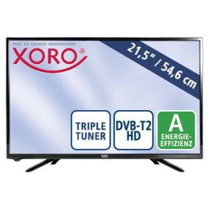 "21,5"" - FullHD-LED-TV HTL 2249 • H.265 • TV-Aufnahme über USB • leistungsfähiger HD-Media-Player • HDMI-/USB-/CI+-Anschluss • Stand-by: 0,5 Watt, Betrieb: 22 Watt • Maße: H 30,5 x B"