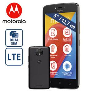 Smartphone moto c • 2 Kameras (2 MP/5 MP) • 1-GB-RAM • microSD™-Slot bis zu 32 GB • Android™ 7.0