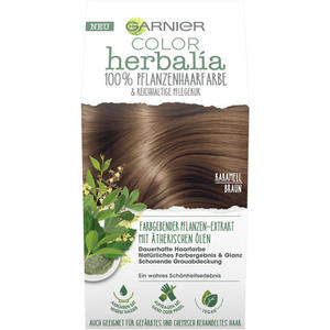 Garnier Color Herbalia Karamellbraun 100 % Pflanzenhaarfarbe