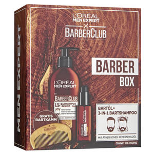 L'Oréal Paris men expert Barber Club Barber Box Geschenkset