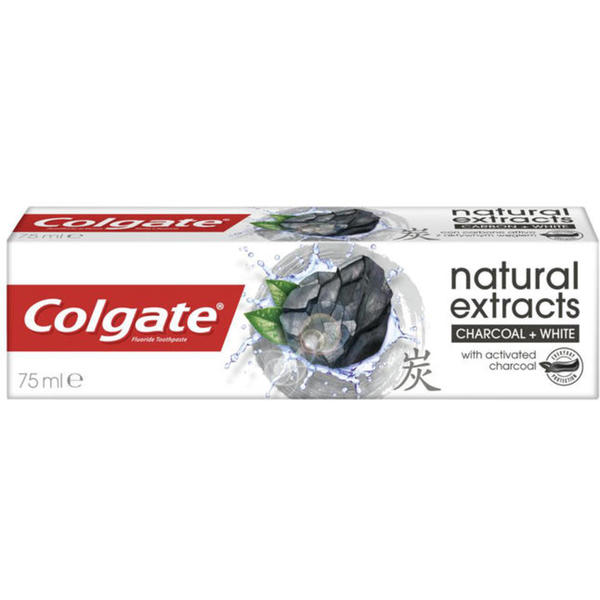 Colgate natural extracts Charcoal White Zahnpasta 4.65 EUR/100 ml