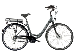 Rössler Aluminium E-Bike Advanced 6 mit fester Vordergabel