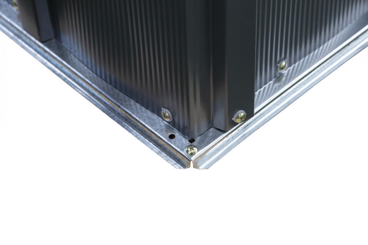 Bild 3 von Spacemaker Metallgerätehaus 5x4 grau