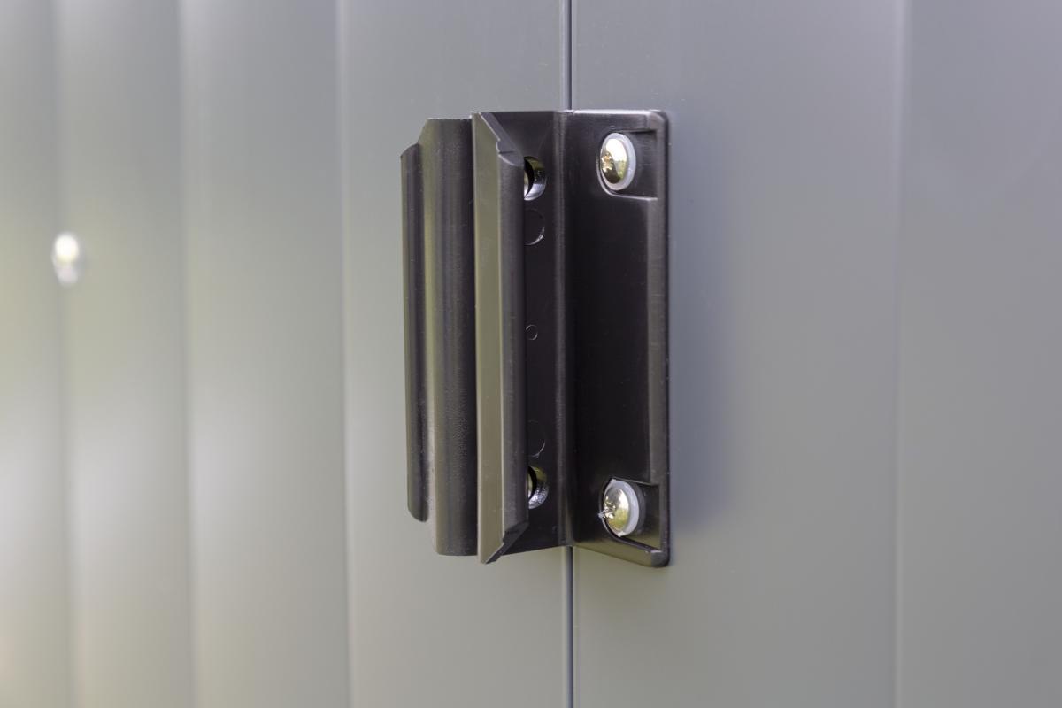 Bild 3 von Spacemaker Metallgerätehaus 10x8 grau
