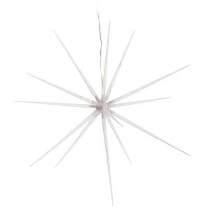 LED-Stern 25 cm aufhängbar mit 14 warmweißen LED