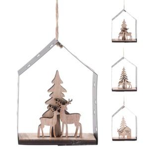 Deko-Glashaus aufhängbar mit verschiedenen Motiven
