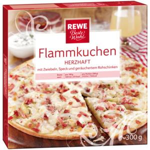 REWE Beste Wahl Flammkuchen herzhaft 300g