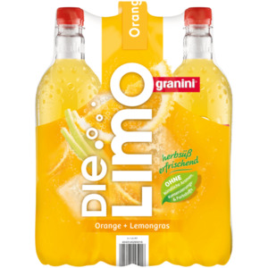 Granini Die Limo Orange & Lemongras 6x1l