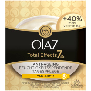 Olaz Total Effects 7-in-1 Tagescreme mit LSF 15 50ml