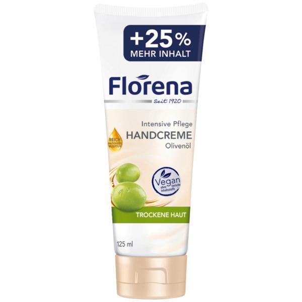 Florena Handcreme mit Olivenöl vegan 125ml