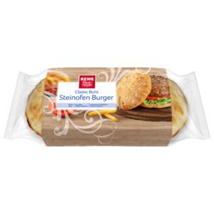 REWE Beste Wahl Classic Buns Steinofen Burger 180g