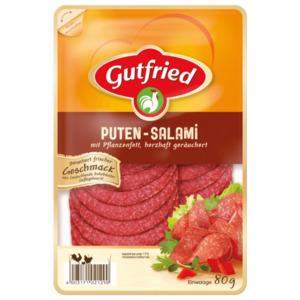 Gutfried Puten-Salami 80g