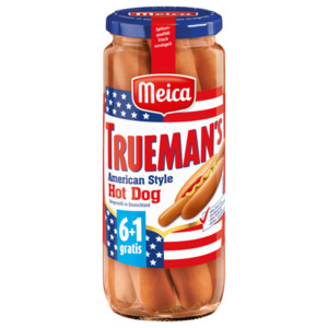 Meica Truemans American Hot-Dog 350g