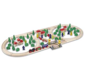 EICHHORN Holzeisenbahn-Set
