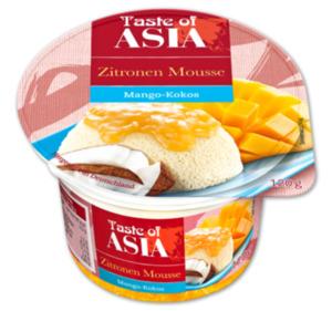TASTE OF ASIA Zitronen Mousse auf Frucht