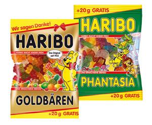 Haribo Fruchtgummi Goldbären, Phantasia, Tropi Frutti, Color-Rado
